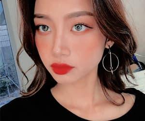 girl, make up, and ulzzang image