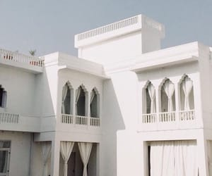 white, architecture, and aesthetic image