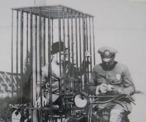 1920s, police, and harley davidson image