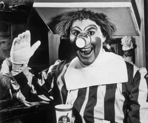 1963, happy, and clown image