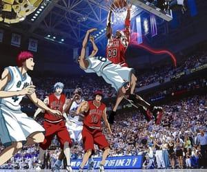 trap anime, kuroko no basket, and akashi image