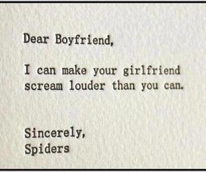 spider, boyfriend, and girlfriend image