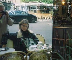 cafe, french, and vintage image