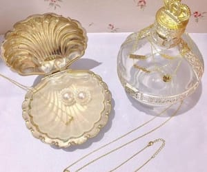 mermaid, pearls, and jewelry image