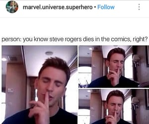 Avengers, captain america, and 😘 image