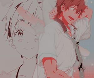 anime, free!, and gif image