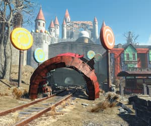 castle, disrepair, and fallout image
