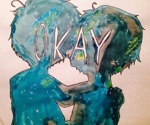 art, drawing, and okay image