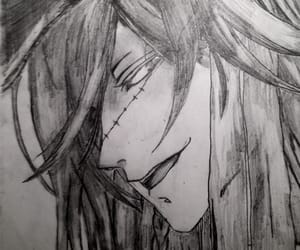 anime, undertaker, and art image