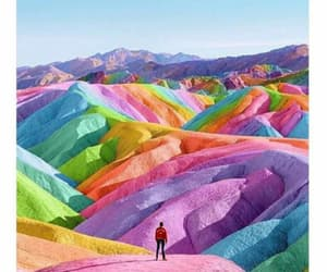 colores, mountains, and paradise image