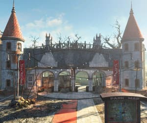 amusement park, fallout, and ruin image