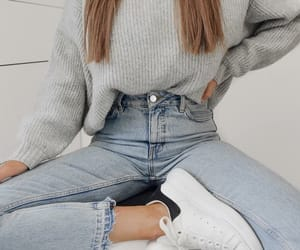 fashion, girls, and sweater image