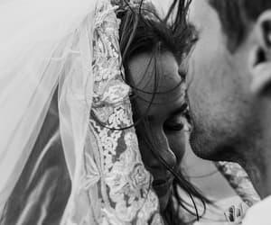 Hot, kiss, and wedding image