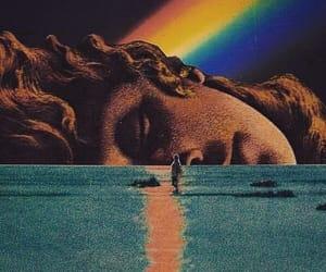 art, rainbow, and aesthetic image