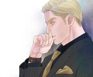 art, Erwin, and suit image