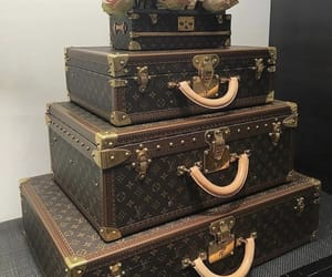 Louis Vuitton and luggage image
