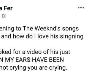 blessed, OMG, and the weeknd image
