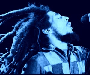 blue, sayings, and bob marley image