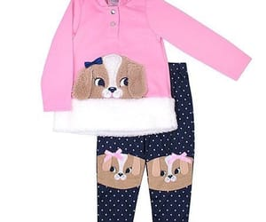 baby clothes, clothes, and dogs image