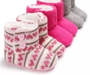baby, hearts, and baby girl clothes image