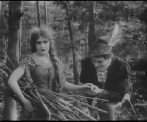 gif, vintage, and silent movies image