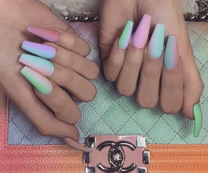 chanel, perfect nails, and nail inspo image