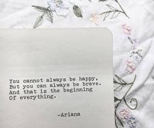 quotes, happy, and white image