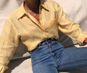 denim, pale, and style image