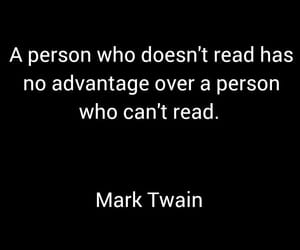 book, books, and mark twain image