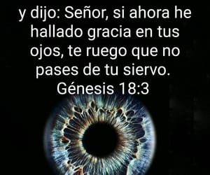 Gracia, señor, and ojos image