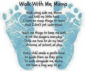 mama, poem, and mother image