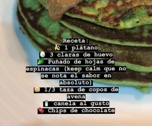 pancakes, tortitas, and platano image