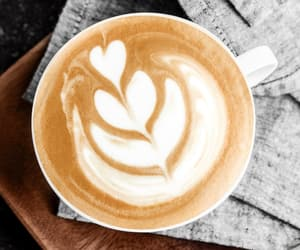 coffe, happy, and latte image