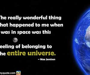 space, mae jemison, and space quotes image