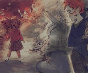 harry potter, hermione, and the philosopher's stone image