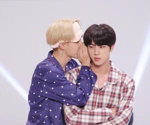 bts, jin, and jinmin image