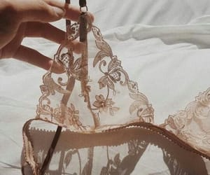 bra, lingerie, and lace image
