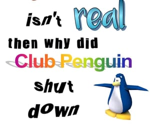 meme, club penguin, and reaction pic image