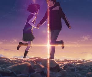 anime, gif, and miyamizu mitsuha image