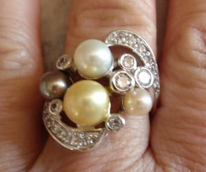 etsy, statement ring, and vintage ring image