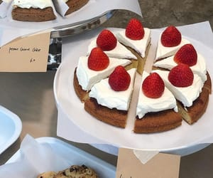 breakfast, healthy food, and cake image