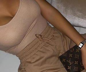 beige, fashion, and jewerly image