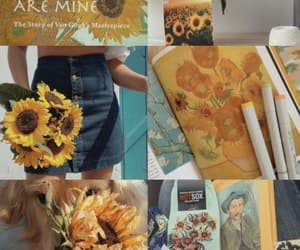 sunflower, van gogh, and wallpaper image