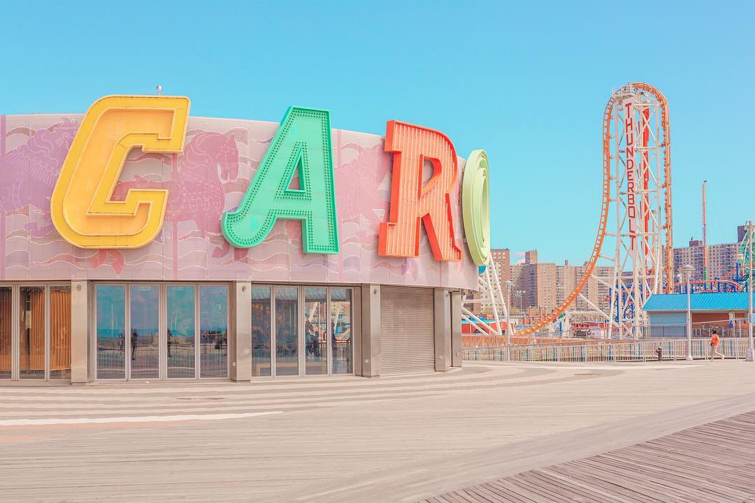 coney island, places, and photography image