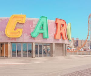 coney island, photography, and places image