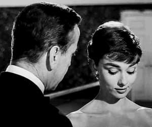 audrey hepburn, movie, and black and white image