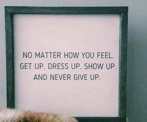 never give up and quotes image