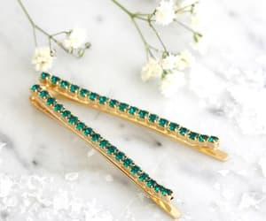 etsy, fashion, and emerald jewelry image