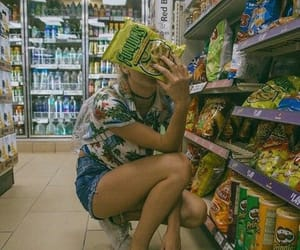aesthetic, food, and grocery store image