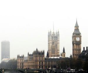Big Ben, big city, and london image